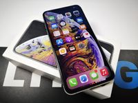 Sklep zadbany Iphone XS Max 256gb Silver Balticgsm