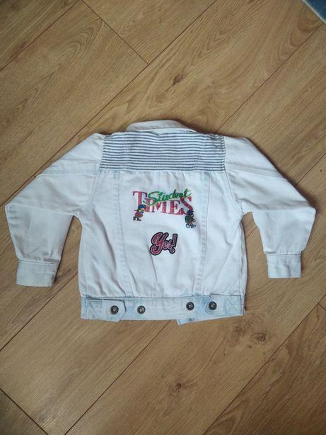 Стильная джинсовка ветровка джинсовая куртка пиджак 2-4 года