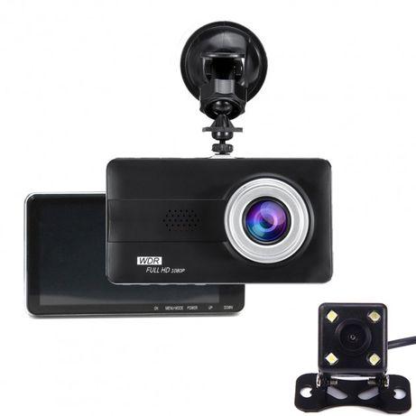 Видеорегистратор автомобильный DVR BlackBox Z30 с камерой заднего вида