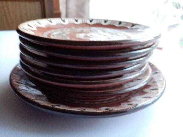Ceramika bułgarskia - zestaw talerzy