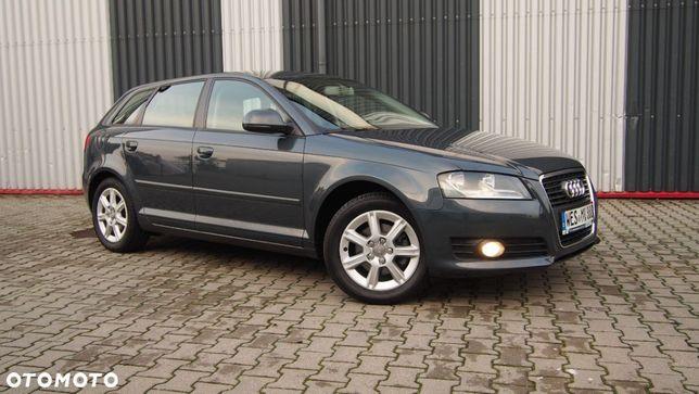 Audi A3 REZERWACJA*Benzyna*5 Drzwi*1 Właściciel*Serwisowany*Udokumentowany!