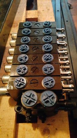 Rozdzielacz hydrauliczny 7 SEK Przyczepa Leśna do drewna Kellfri SV27