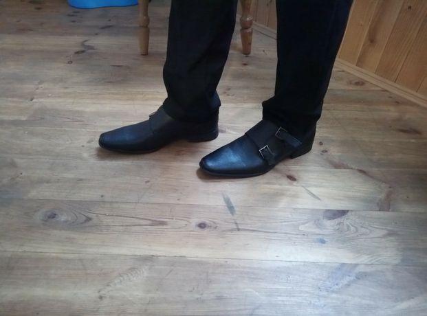 Наш пролет . С Америки.Классические кожаные туфли Calvin Klein 42-43 р