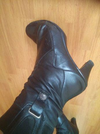 Ботинки кожаные осенние