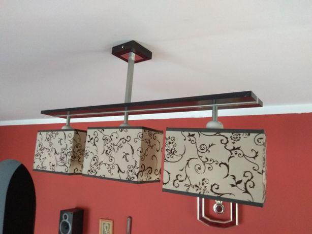 lampy sufitowe komplet 3+2