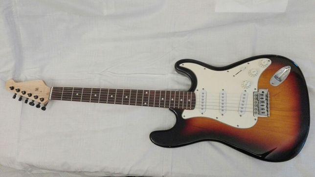 Gitara elektryczna typu fender stratocaster