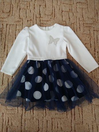 Платье на девочку 104-110