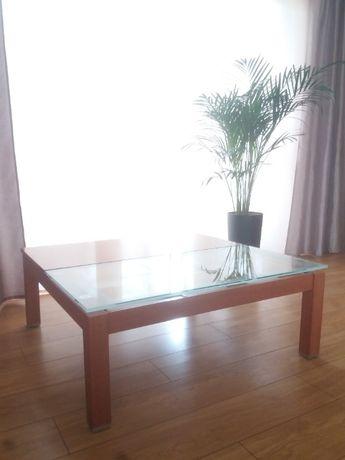 Stolik kawowy wielofunkcyjny / szklany