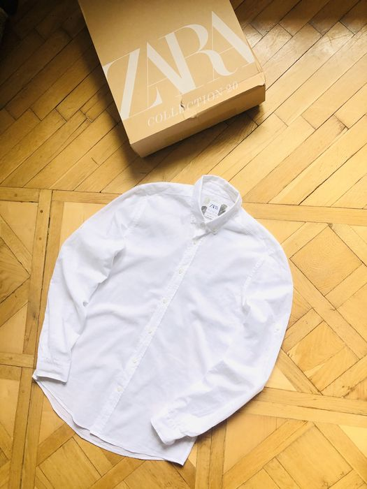 Рубашка, кофта Zara Man relaxed-fit hilfiger h&m lacoste levis calvin Львов - изображение 1