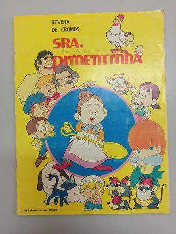 Caderneta Sra. Pimentinha - Até 12 de Agosto