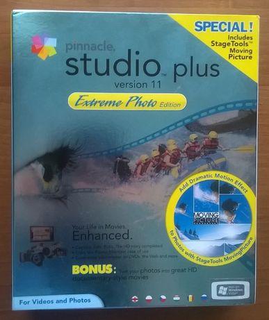 Pinnacle Studio Plus version 11 DVD instrukcja PL