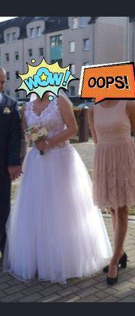 Sprzedam suknie ślubną rozm L-Xl