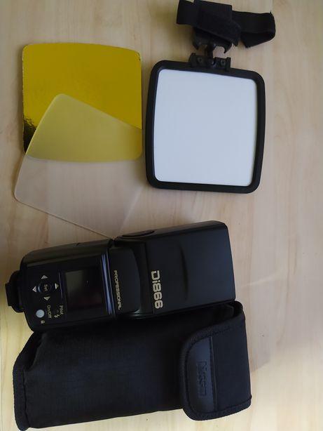 Flash Nissin Di866 para Canon