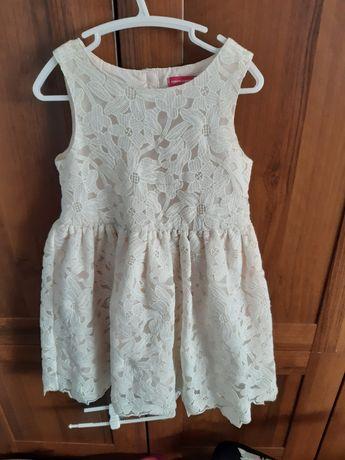 Sukienka koronkowa rozmiar 110