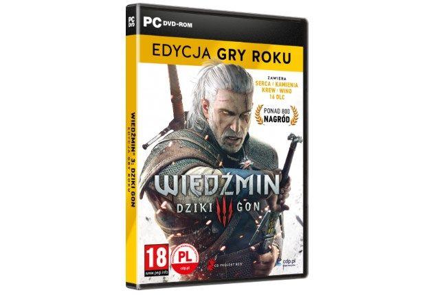 Wiedźmin 3 III Dziki Gon Witcher Wild Hunt Edycja Gry Roku Folia