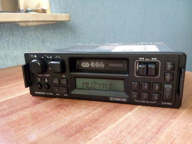 Radio VOLVO CR-906 rds oryginalne + kod - CZARNE - unikat !!