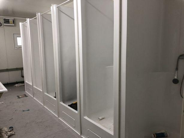 Kabina prysznicowa kontenerowa do kontenerów sanitarnych