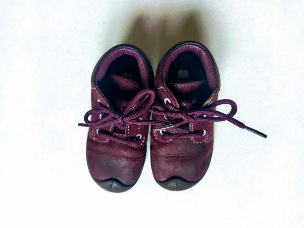 Elefanten r. 19 fioletowe buty na jesień skórzane