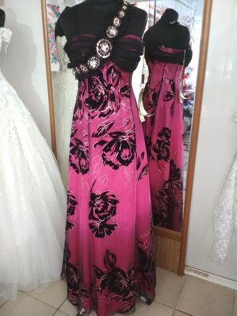 San Fiore вечернее выпускное платье на выпускной 38 размер годе новое