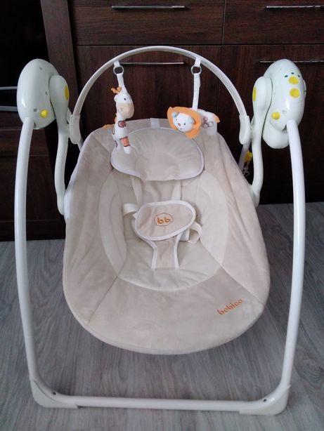 Leżaczek bujaczek na prad bebico