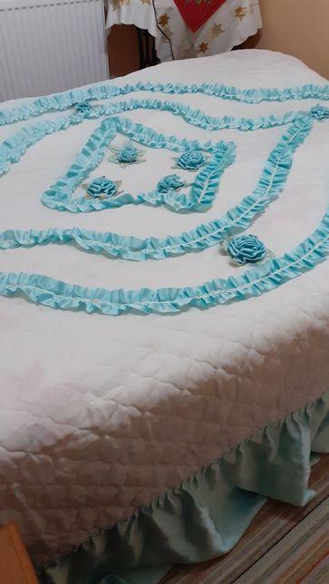 Narzuta na duże łóżko kolor taki jak na 4i 5 zdjęciu