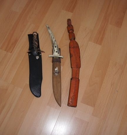 Bagnety, noże, ozdoba, kolekcja
