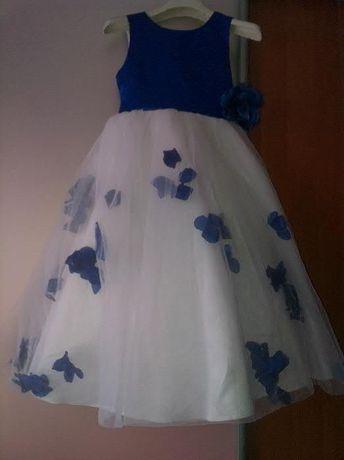 Пышное нарядное платье (8-9-10 лет) на выпускной, фотосессию новый год