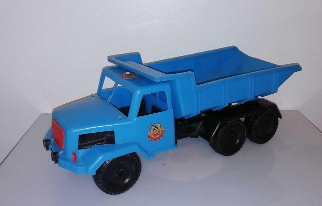 Raro brinquedo português camião Magirus plástico Motassis