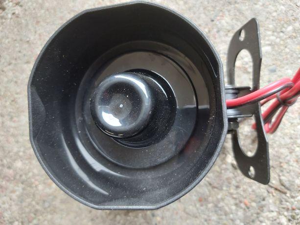Syrenka alarmowa 12 V sygnalizator 20 watowy