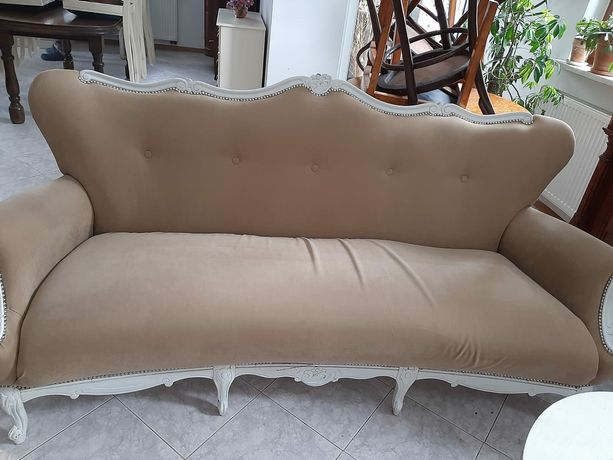 Komplet Ludwik kanapa i 2 fotele
