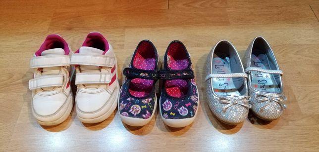 Buty dziewczęce 26