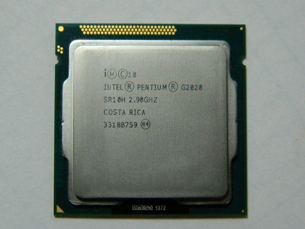 Процессор Intel Pentium G2020 (s1155, 2.90 ГГц, 3 МБ) 500 рублей