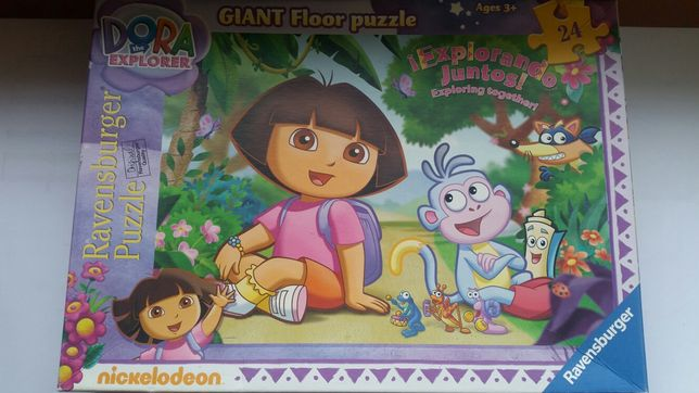 Puzzle podłogowe Dora 24 elementy