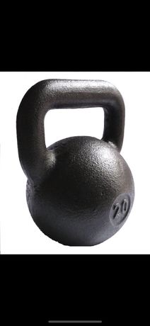 KETTLEBELL żeliwna hantla hantle Kettlebells producent 20 kg NAJTANIEJ