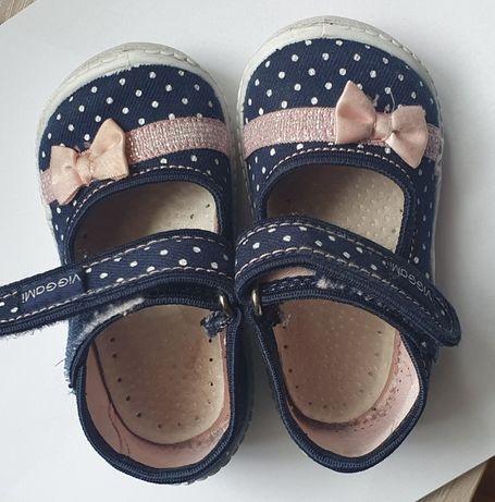 Małe buciki dla dziewczynki bucie rozmiar 21