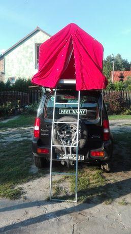 Namiot dachowy PRL