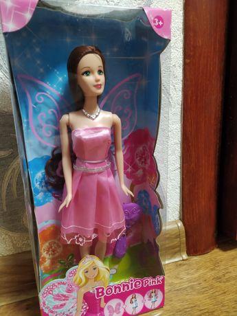 Кукла барби с крыльями на шарнирах. Коляска для кукол новая