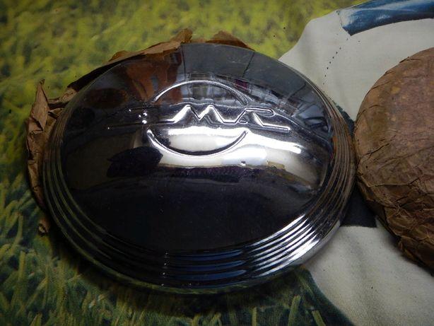 МОСКВИЧ 403 ЗМА Хромированные колпаки 2шт. на диски СССР ретро хром