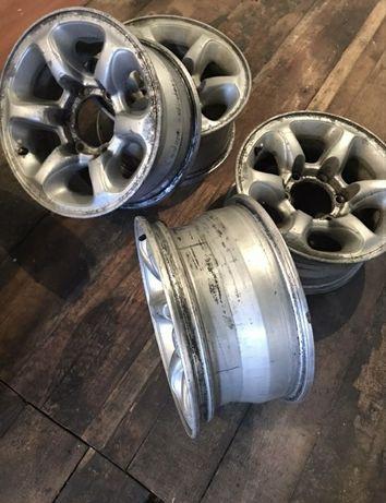 диски легкосплавные pajero r 15