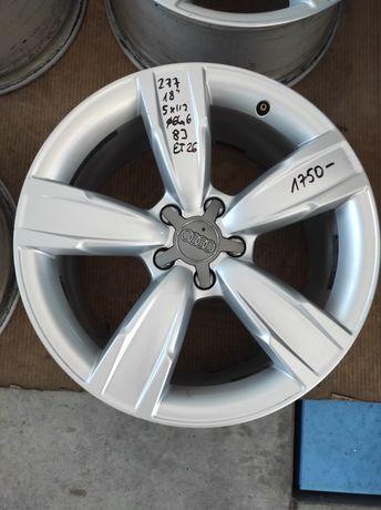 277 Felgi aluminiowe ORYGINAŁ AUDI R 18 5x112 otwór 66,6 Bardzo Ładne
