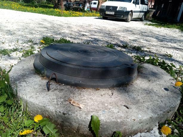 Кільце бетонне, люк каналізаційний
