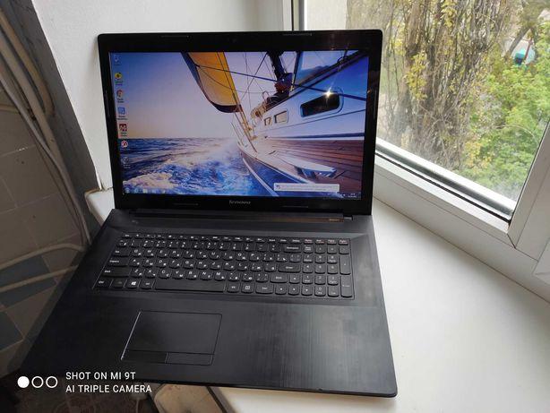 Игровой с большим экраном Lenovo G70-80, Core i3-5005U, батарея 3 часа