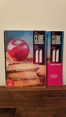 """""""Clube das Ideias"""" - Filosofia 11⁰Ano (Manual + Caderno de Atividades)"""