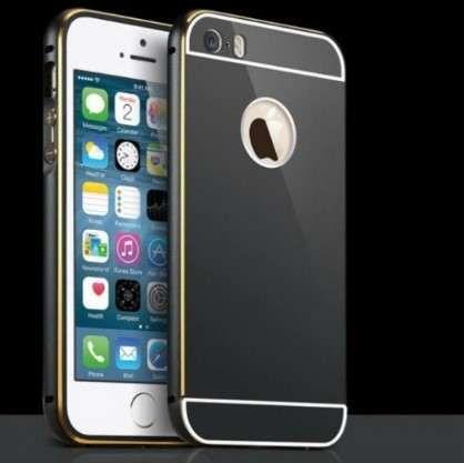 RU335 Shockproof Bumper Alumínio + Capa Traseira de iPhone 6 Novo! ^A