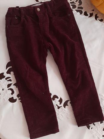 Вельветові штани для хлочика ZARA 2-3 роки