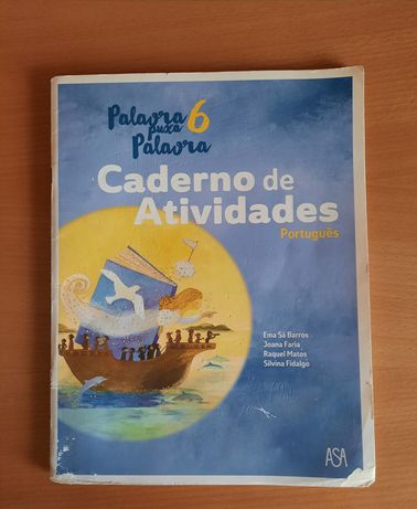 Caderno de Atividades de Português 6° Ano - Palavra Puxa Palavra