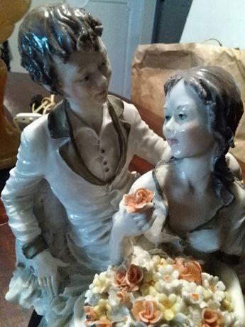 Estátua noivos italiana