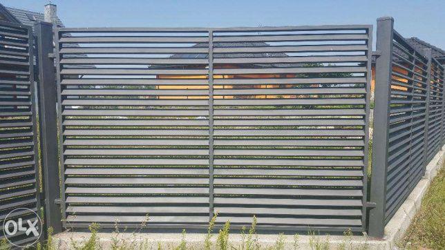 ogrodzenie palisadowe