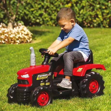 Дитячий трактор на акумулятор і