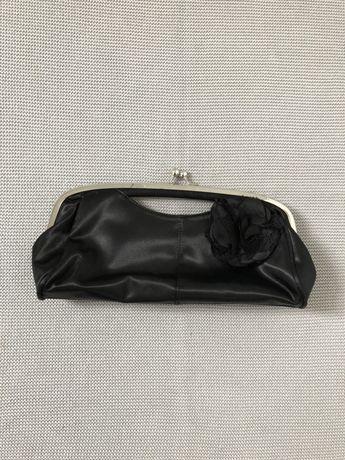 NEW LOOK kopertówka torebka wieczorowa czarna